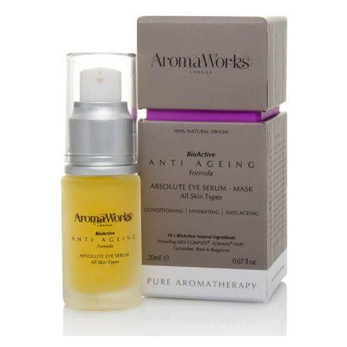 men's absolute eye serum 20ml wyprodukowany przez Aromaworks
