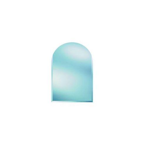 Lustro łazienkowe bez oświetlenia SM 90 x 60 cm DUBIEL VITRUM, kolor biały