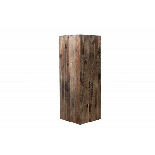 Invicta kolumna columna 75 cm brązowa akacja, drewno naturalne marki Sofa.pl