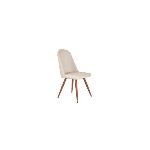 K214 krzesło ciemny kremowy / czereśnia antyczna iii marki Halmar