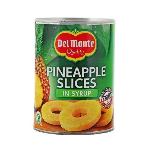 DEL MONTE 570g Ananasy plastry w syropie