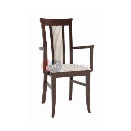 Krzesło z podłokietnikiem emalia b-silentoe marki Paged