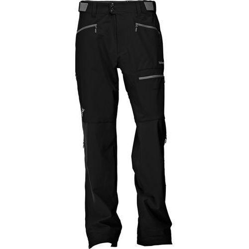 falketind windstopper spodnie długie mężczyźni czarny m 2018 spodnie softshell marki Norrøna