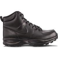 manoa leather 003 black - buty męskie zimowe, Nike