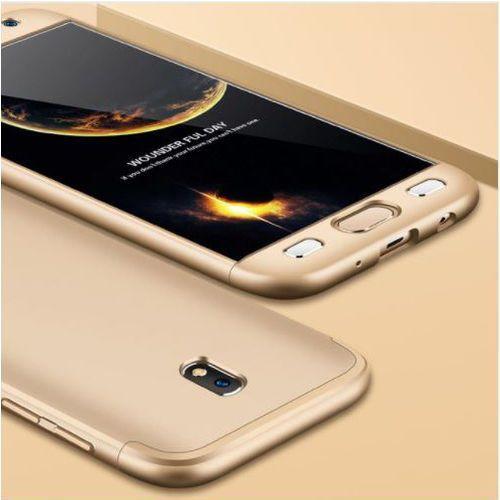 Etui ochronne dla Samsung Galaxy J5 2017 - Złote - Złoty