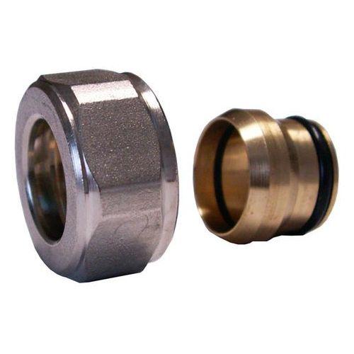 Schlosser Złączka zaciskowa do rury z miedzi cu gw m22x1,5 x 15mm 6025 00002 niklowana