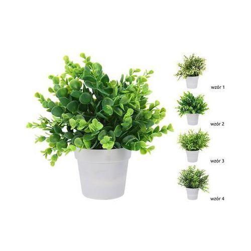 sztuczna roślina w doniczce