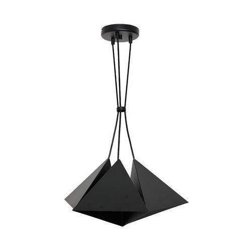 Lampa wisząca zwis żyrandol Luminex Set 3x60W E27 czarna 7414