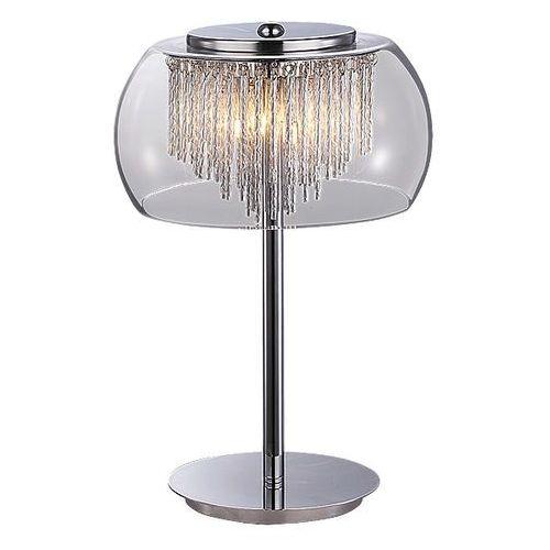 2822 lampa stołowa mona szkło chrom marki Rabalux