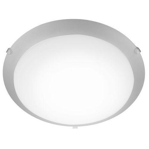 Eglo Plafon mars 1 89248 lampa sufitowa 1x60w e27 biały/srebrny (9002759892487)