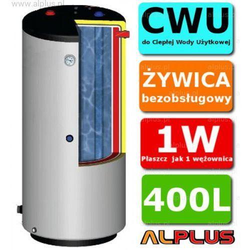 ERMET 400l pionowy dwupłaszczowy bojler do CWU - podgrzewacz wymiennik bezobsługowy - WYSYŁKA GRATIS, DPWSto - E.P.G.C 400l +skay