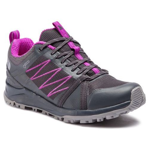 Trekkingi - litewave fastpack ii gtx gore-tex t93reec48 ebony grey/purple cactus flower marki The north face