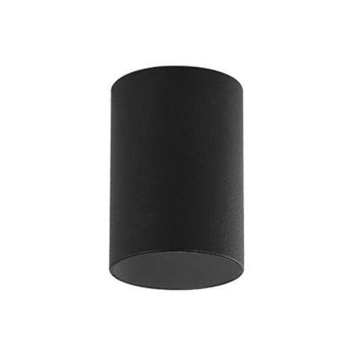 Downlight LAMPA sufitowa KIKA NERO Orlicki Design metalowa OPRAWA minimalistyczna tuba natynkowa czarna (1000000470994)