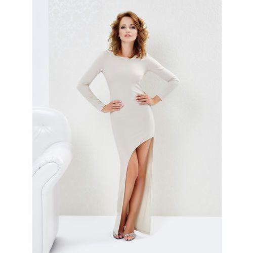Sukienka Blake w kolorze beżowym