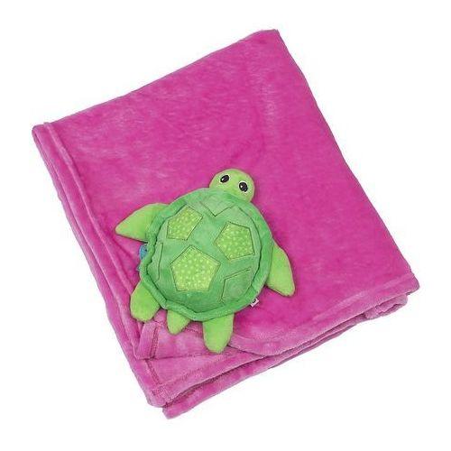 Zoocchini  kocyk różowy żółwik