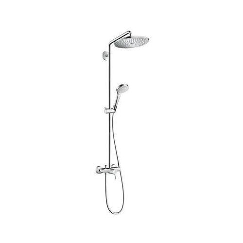 Hansgrohe croma select s 280 zestaw prysznicowy 1 jet chrom 26791000 (4011097801704)