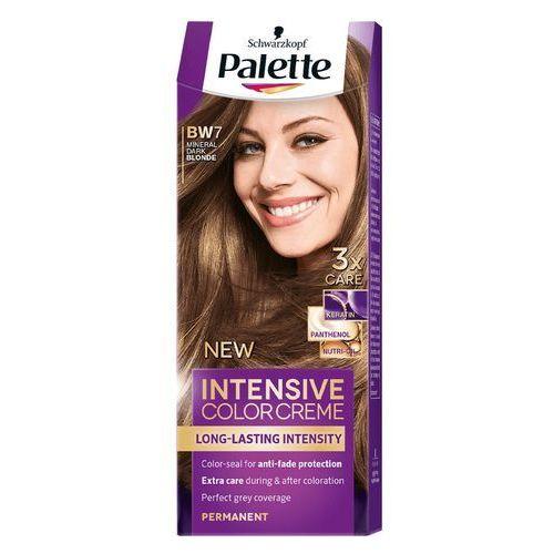 Farba do włosów Palette Intensive Color Creme Mineralny ciemny blond BW7, 9000101024135