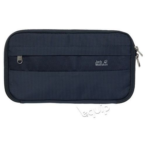 Jack wolfskin Portfel podróżny boarding pouch rfid - night blue