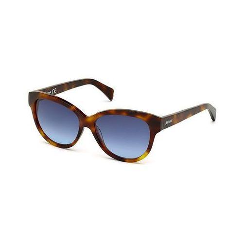 Okulary Słoneczne Just Cavalli JC 717S 56W, kolor żółty