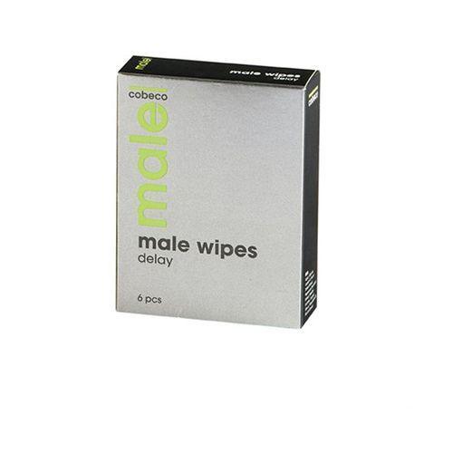 Chusteczki opóźniające - Male Wipes Delay 6 x 2,5 ml