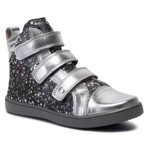 Sneakersy BARTEK - 17364-6S/SAW Czarny/Srebrny