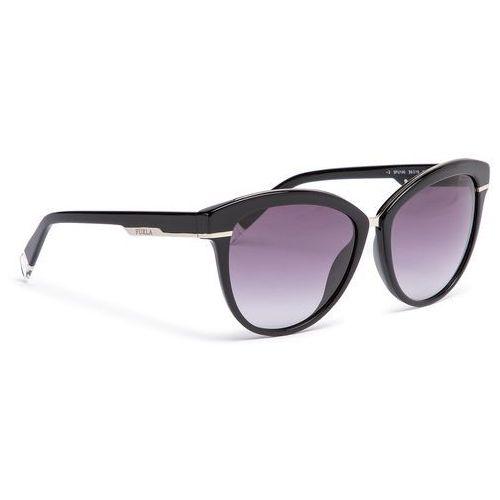 Furla Okulary przeciwsłoneczne - lucky 919719 d 140f rem onyx