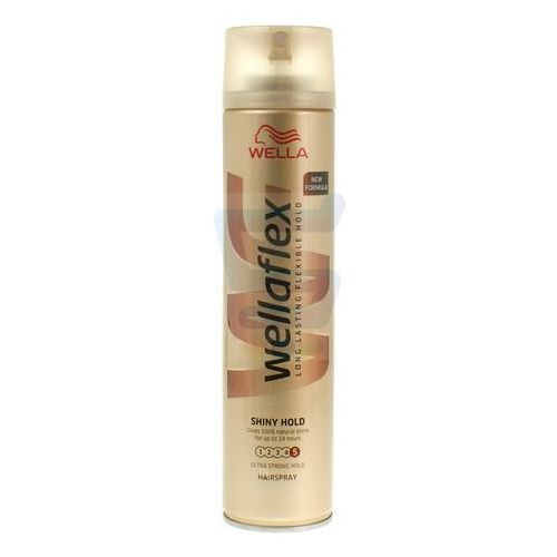 Lakier do włosów Wella Wellaflex Shiny Hold Maksymalnie utrwalający 250 ml