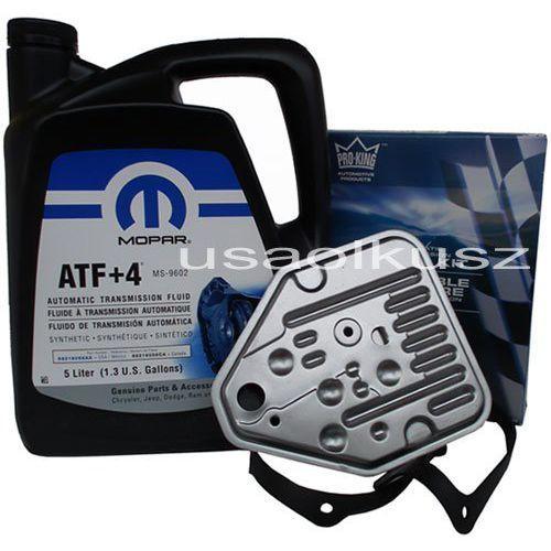 Olej MOPAR ATF+4 oraz filtr automatycznej skrzyni 3SPD Dodge Neon z kategorii Filtry oleju do skrzyni biegów