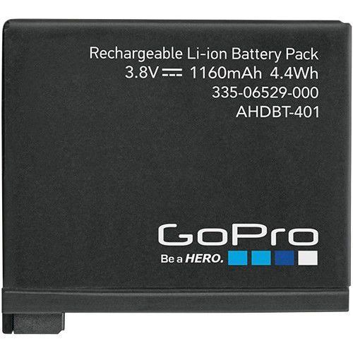 Gopro Akumulator  ahdbt-401 1160mah do kamery sportowej hero4 + zamów z dostawą jutro! + darmowy transport! (0818279011654)