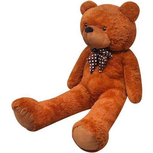 vidaXL Pluszowy miś przytulanka 260 cm, brązowy