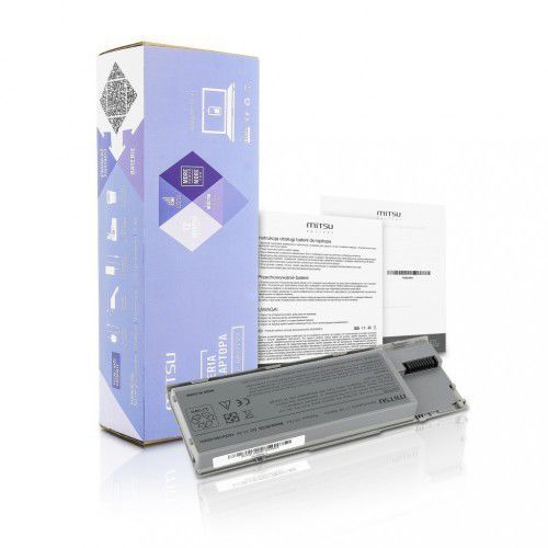 Bateria Mitsu do Dell Latitude D620, 4400 mAh, 11.1 V (BC/DE-D620) Darmowy odbiór w 21 miastach!, BC/DE-D620