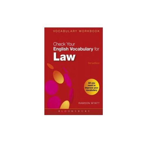 Check Your English Vocabulary For Law, Wyatt, Rawdon
