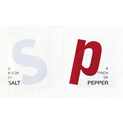 Dwupak sól/pieprz 1,0/0,2g | 5000szt