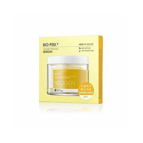 Neogen bio-peel gauze peeling lemon 2.48 oz / 76ml (8 pads) (8809381444975)