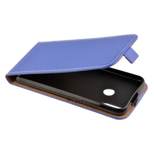 Zalew mobile Etui kabura flexi rubber do huawei p20 lite niebieski - niebieski (5902280606604)