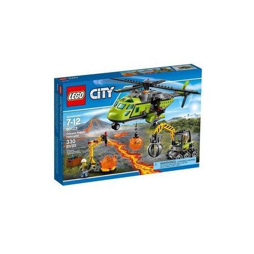 wulkan helikopter dostawczy marki Lego