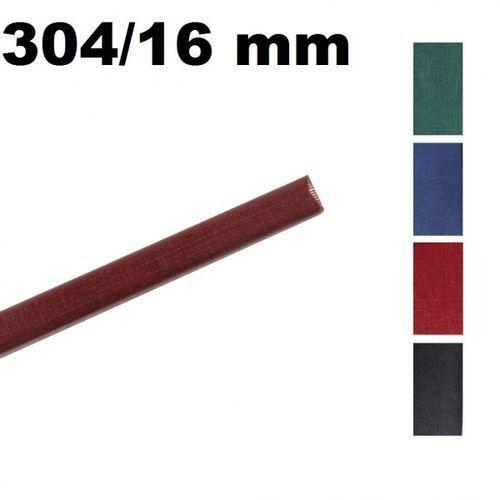 Kanały O.CHANNEL Classic 304 mm x 16 mm (do 150 kartek), czarne, 10 sztuk - Autoryzowana dystrybucja - Szybka dostawa
