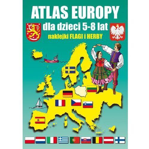 Atlas Europy dla dzieci 5-8 lat - Guzowska Beata, Tonder Krzysztof, Literat