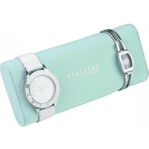 Poduszka na zegarki miętowa marki Stackers