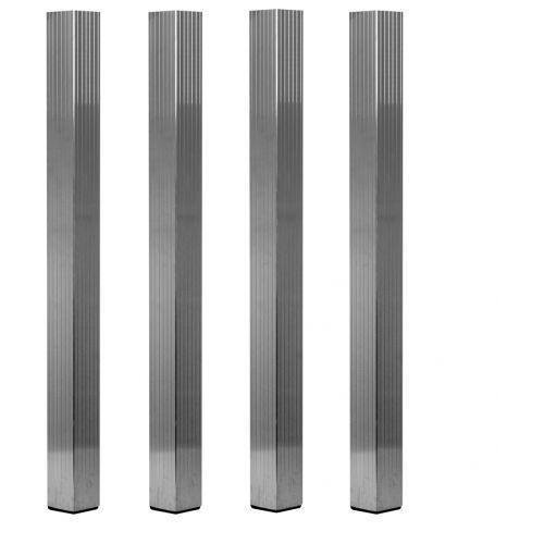 Duratruss dt ds-ps-leg-set-sq-100 zestaw nóg do podestu aluminiowego 100cm