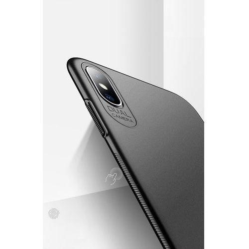 Etui slim case do iphone xs max 6.5 czarne marki Msvii