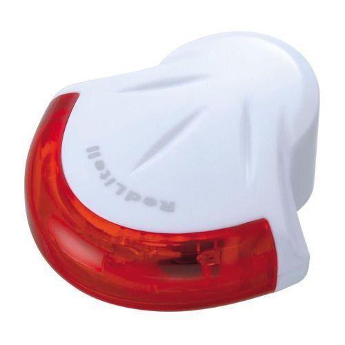 Topeak redlite ii - lampa tylna, biała - biały