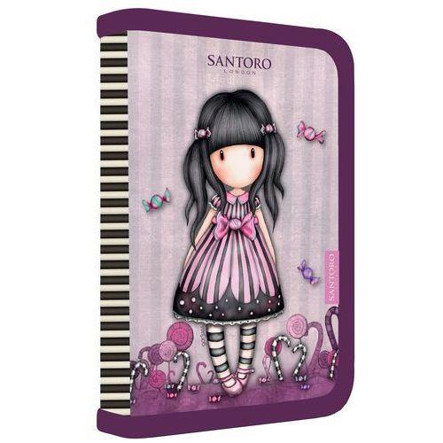 Karton p+p piórnik szkolny jednopiętrowy sugar and spice (8595096715447)