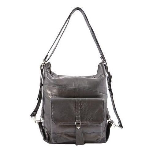 Milskór Shopper bag 2w1 czarny