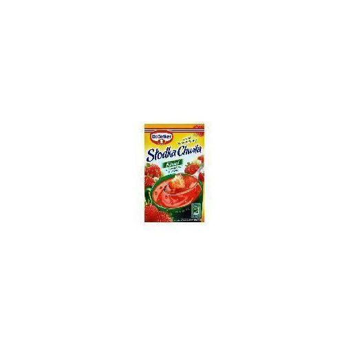 Dr. oetker Kisiel z kawałkami owoców smak truskawkowy słodka chwila 31,5 g dr.oetker (5900437037219)