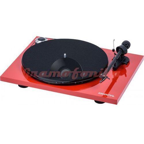 Gramofon Pro-Ject ESSENTIAL III BT czerwony