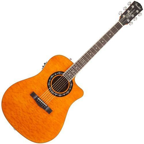 Fender t-bucket 300ce amber quilt