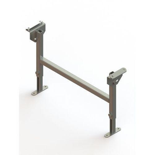 Stojak podwójny, ocynkowany, szer. taśmy 600 mm, zakres regulacji 330 - 480 mm.