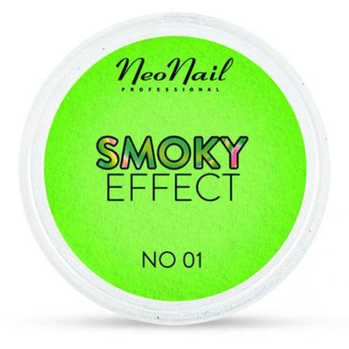 OKAZJA - smoky effect pyłek no 01 (zielony) marki Neonail