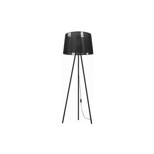 TK Lighting Carmen Black 5162 Lampa podłogowa stojąca 1x60W E27 czarny (5901780551629)